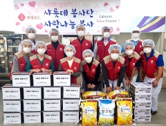 롯데푸드 샤롯데봉사단, 지역 소외 이웃에 릴레이 사회공헌활동
