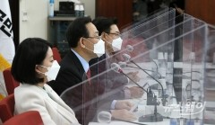 법원의 검찰총장 직무배제 효력정지 결정 입장 밝히는 주호영