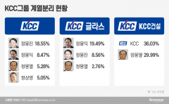 KCC 계열분리 완성…정몽진, 실리콘 수익성 고민