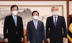 이낙연·김종인 회동, 공수처·중대재해법 등 합의 기대