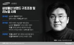 실적부진에 '수장' 갈아치운 삼성패션