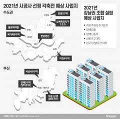 """미리보는 2021년 정비사업 각축지…""""강남보단 강북·서울보단 지방"""""""