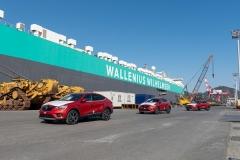 르노삼성 XM3,유럽 '첫 수출' 750대 선적···경영정상화 단초 마련