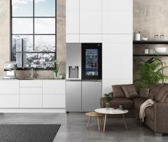 LG전자 인스타뷰 냉장고 'CES 2021' 첫 공개