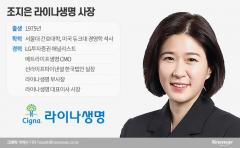 라이나생명 첫 女CEO 조지은, 헬스서비스기업 선봉