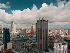 LG, 가전·배터리 폴란드 마천루서 옥외광고