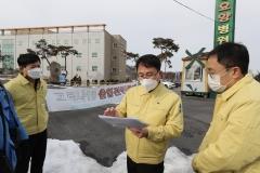이돈국 광산구부구청장, 코로나19 방역현장 방문