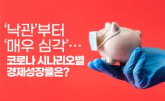 '낙관'부터 '매우 심각'…코로나 시나리오별 경제성장률은?
