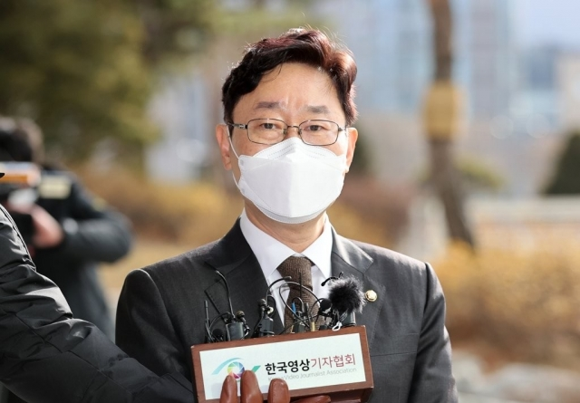 """박범계 """"박원순 관련 법원 판결 존중…호칭 논란 더 큰 고통"""""""