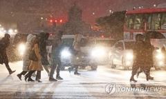 낮부터 추위 한풀 꺾이지만…서울·경기는 '눈'