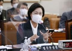 """추미애 """"윤석열, 피해자 코스프레…정치 야망 있어"""""""