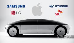 애플카, 현대차 협업 '초읽기'…군침 흘리는 삼성·SK·LG