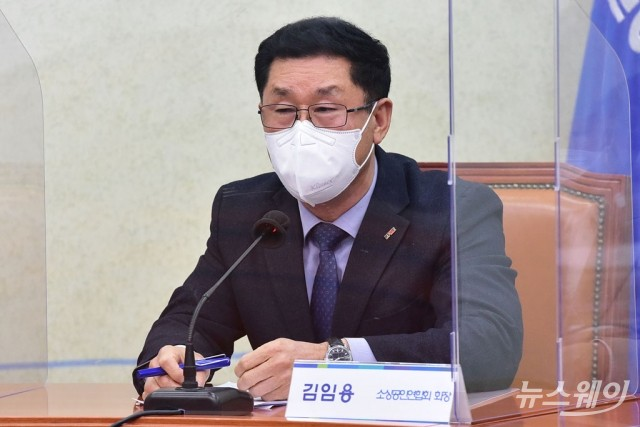 [NW포토]발언하는 김임용 소상공인연합회 회장 직무대행