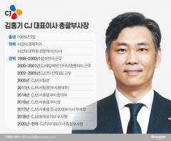 안방살림 맡는 김홍기 CJ대표이사 총괄부사장