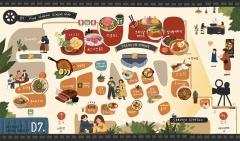 아이파크몰, 지역 고객 위한 '맛집 배달 서비스' 실시