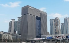 두산그룹, 신사옥 '분당두산타워'에 계열사 입주 시작