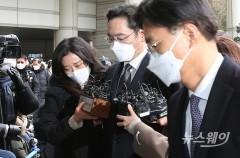 삼성전자, 이재용 부회장 실형 선고에 3%대 약세…삼성그룹株 동반 급락