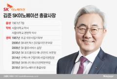 SK의 미래 그리는 김준 SK이노베이션 총괄사장