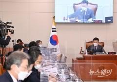 국회 법사위, 김진욱 공수처장 후보자 인사청문 경과보고서 채택