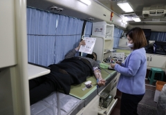 사학연금, 코로나19 동절기 혈액 수급난 극복 위해 단체헌혈