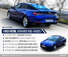 북미 자동차 시장 왕좌 오른…현대차 아반떼, 2030세대 '心' 사로잡았다