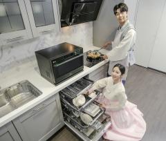 LG전자, 식기세척기·전기레인지·광파오븐 판매량 '쑥쑥'