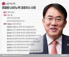 글로벌 1등 주춧돌 놓겠다는 정철동 LG이노텍 대표이사 사장