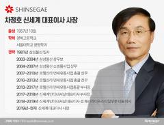 '정유경 Pick' 차정호 신세계 사장