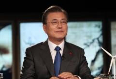 """문 대통령 """"韓경제 OECD 최고 수준 전망…안정적 투자처"""""""