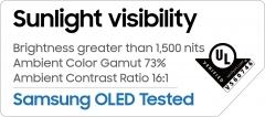 '햇볕 아래서도 선명' 삼성 OLED, 야외 시인성 인정