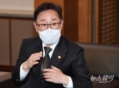 """박범계 """"신현수, 대통령 보좌 계속하길…내일쯤 전화할 것"""""""