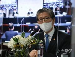 서울역 쪽방촌 정비방안 계획발표하는 변창흠 장관
