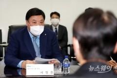 인사말하는 서정진 셀트리온그룹 회장