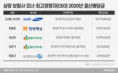 정몽윤 196억·김남호 140억…보험업계 배당랭킹 1위는?