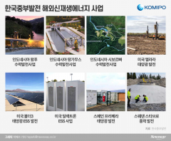 신재생 발전사업 '글로벌 영토확장'