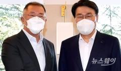 포스코, 수소사업 힘 준다…최정우·정의선 협업 공식화