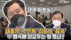 세종은 '조선족' 김치도 '중국'…中 왜곡에 외교부는 뭐 했나?