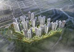 현대건설 '힐스테이트 용인 둔전역' 청약접수