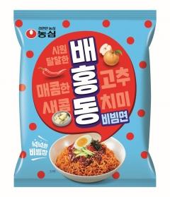 농심, 비빔면 '배홍동' 출시…하절기면 시장 출사표