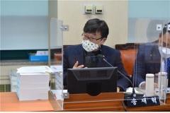 """송재혁 서울시의원 """"'22년 100만 가구 태양광 보급 목표, 왜 반으로?"""""""