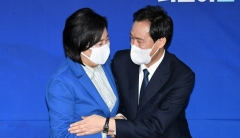 박영선, 민주당 서울시장 후보로…삼수만에 본선행