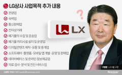 LG가 구본준, 몸집 키우기 본격화…신설 그룹명 LX 유력