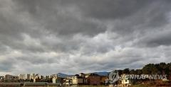 전국 대체로 흐림…새벽까지 동해안 눈·비