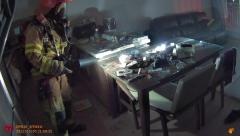 김천 아파트 화재 발생, 67명 대피