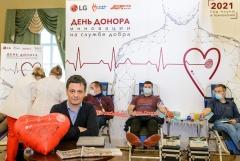 LG전자, 러시아서 헌혈캠페인 펼쳐
