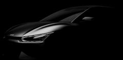 최초 전용 전기차 '기아 EV6' 티저 이미지…이달 말 공개