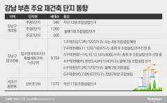 """""""朴·吳, 너도나도 재건축""""···꿈에 부푼 강남 단지들"""