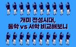 [카드뉴스]개미 전성시대, 동학 vs 서학 비교해보니