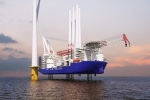 삼성중공업, '해상풍력발전기선' 독자 모델 개발··· 최초 3大 선급 인증