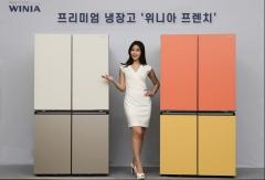 위니아딤채, 정온기술·독립냉각 적용한 '위니아 프렌치' 냉장고 출시